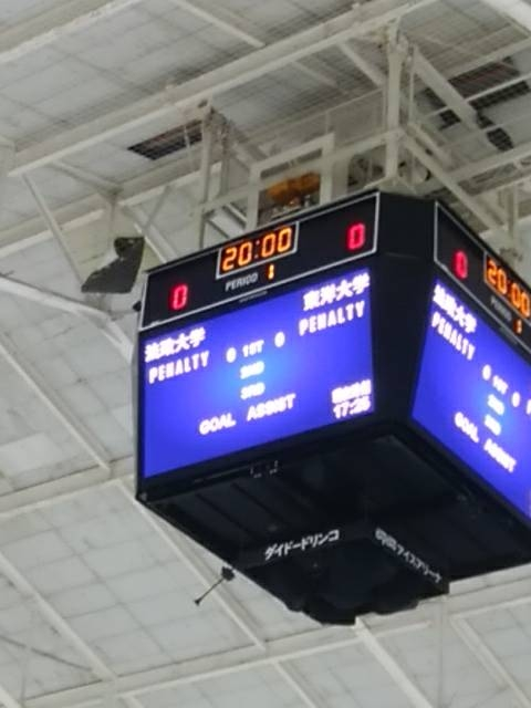 関東大学アイスホッケーリーグ戦開幕