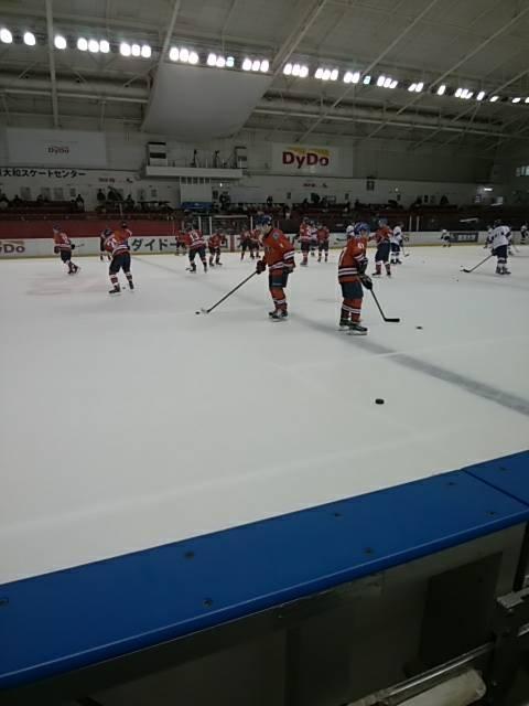 アイスホッケートレーナー活動